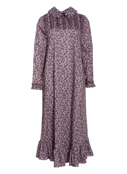 HORROR VACUI Kleid MILLE FLEUR, Farbe: ROSA/ HELLBLAU/ OLIV (Bild 1)