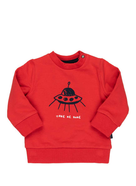 Sanetta KIDSWEAR Sweatshirt, Farbe: ROT (Bild 1)