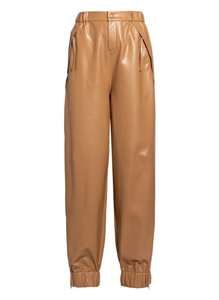 AERON Hose LIMA in Lederoptik, Farbe: CAMEL (Bild 1)