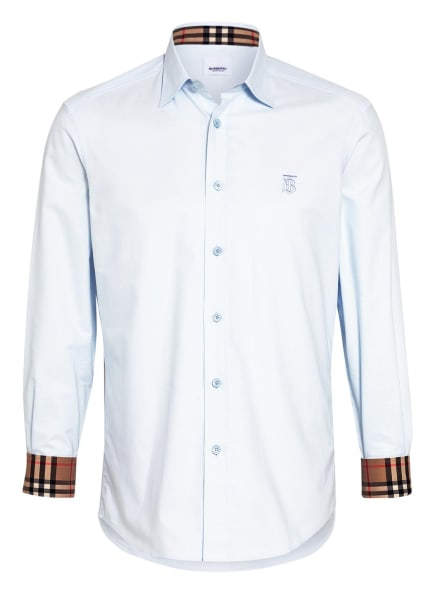 BURBERRY Hemd CELESTE Regular Fit, Farbe: HELLBLAU (Bild 1)