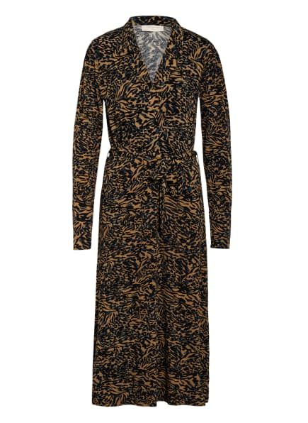 FREEQUENT Kleid, Farbe: CAMEL/ SCHWARZ/ PETROL (Bild 1)