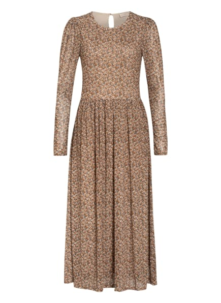 FREEQUENT Kleid, Farbe: BEIGE/ COGNAC/ SCHWARZ (Bild 1)