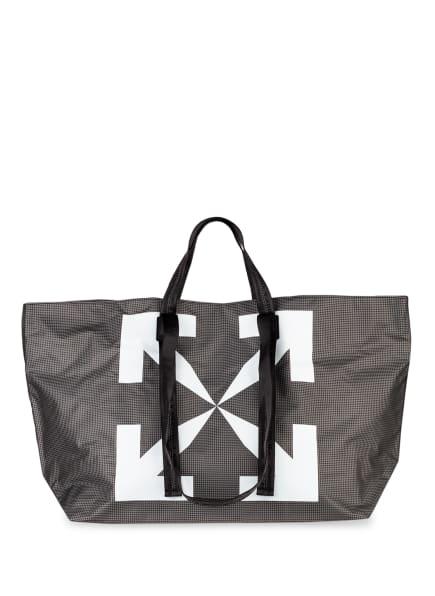 OFF-WHITE Shopper, Farbe: DUNKELGRAU/ WEISS (Bild 1)