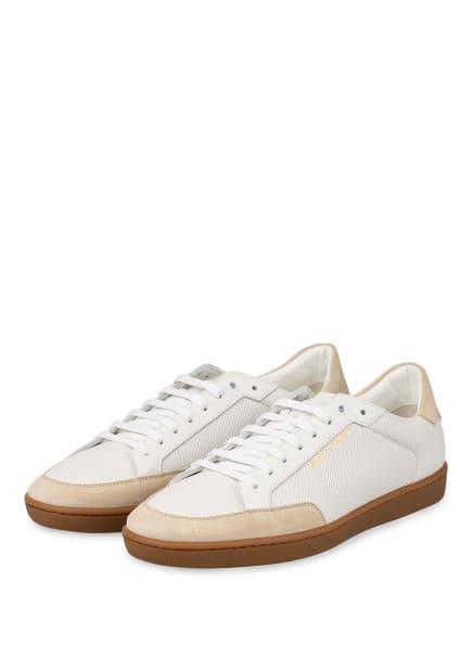 SAINT LAURENT Sneaker COURT CLASSIC , Farbe: WEISS/ BEIGE (Bild 1)