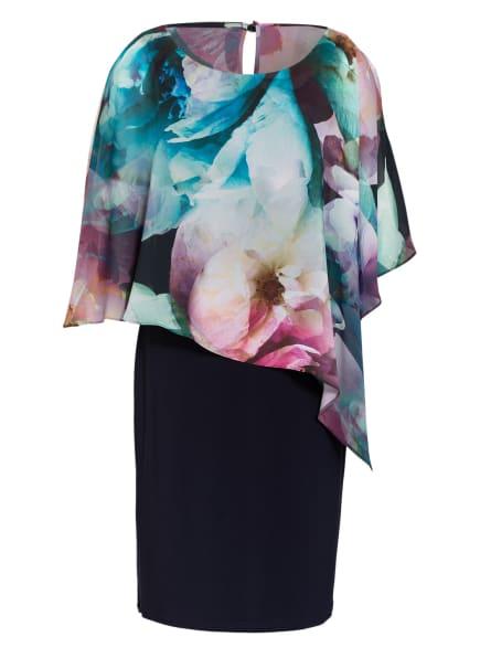 Vera Mont Kleid, Farbe: DUNKELBLAU/ TÜRKIS/ FUCHSIA (Bild 1)