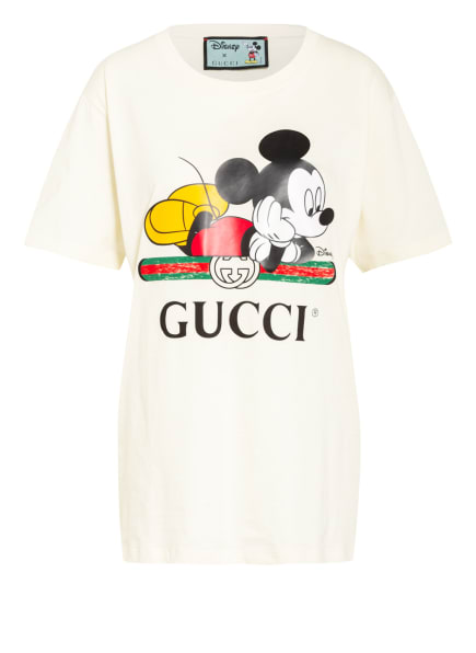 GUCCI Oversized-T-Shirt LOVED, Farbe: HELLGELB (Bild 1)
