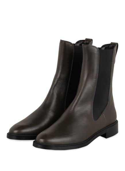 Pertini Chelsea-Boots, Farbe: DUNKELGRÜN (Bild 1)