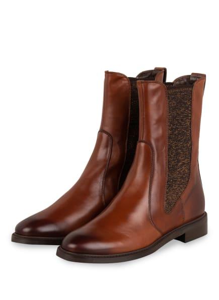 Pertini Chelsea-Boots, Farbe: BRAUN (Bild 1)