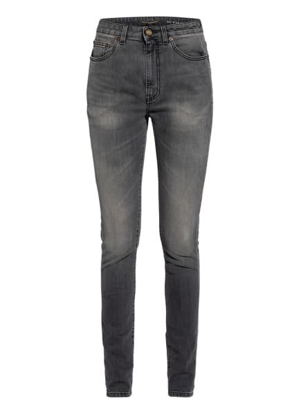 SAINT LAURENT Skinny Jeans, Farbe: 1767 GREY BLACK (Bild 1)