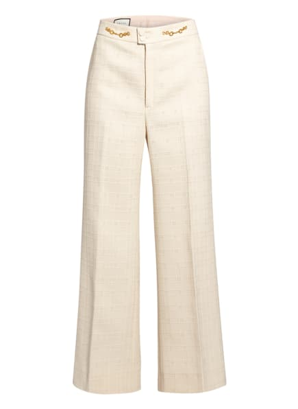 GUCCI Tweed-Hose, Farbe: CREME (Bild 1)