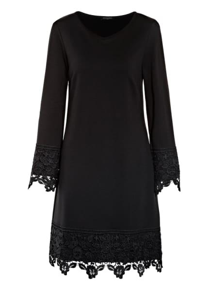 ana alcazar Kleid mit Spitzenbesatz, Farbe: SCHWARZ (Bild 1)