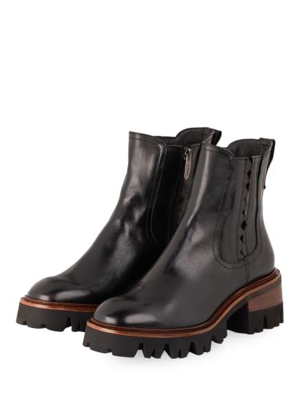 ZINDA Chelsea-Boots, Farbe: SCHWARZ (Bild 1)