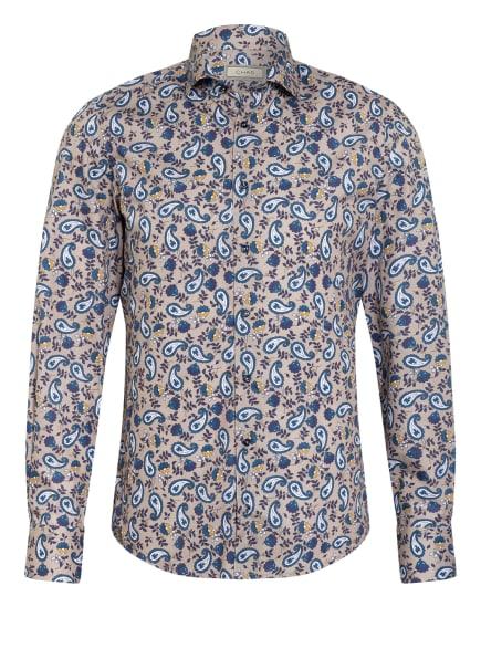 CHAS Hemd Regular Fit, Farbe: HELLCAMEL/ BLAU (Bild 1)