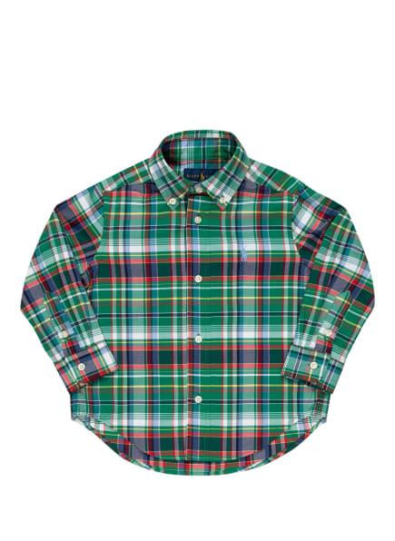 POLO RALPH LAUREN Hemd, Farbe: GRÜN/ BLAU/ GELB (Bild 1)