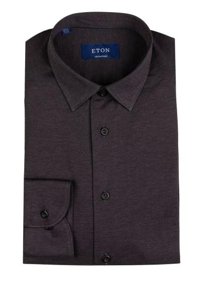 ETON Piqué-Hemd Comfort Fit, Farbe: DUNKELLILA (Bild 1)