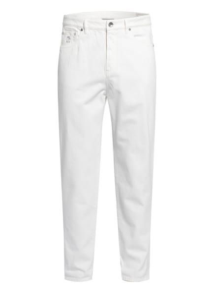 BRUNELLO CUCINELLI Jeans Regular Fit, Farbe: C7210 white (Bild 1)
