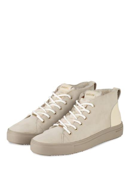 BLACKSTONE Sneaker mit Lammfell, Farbe: Almond Milk (Bild 1)