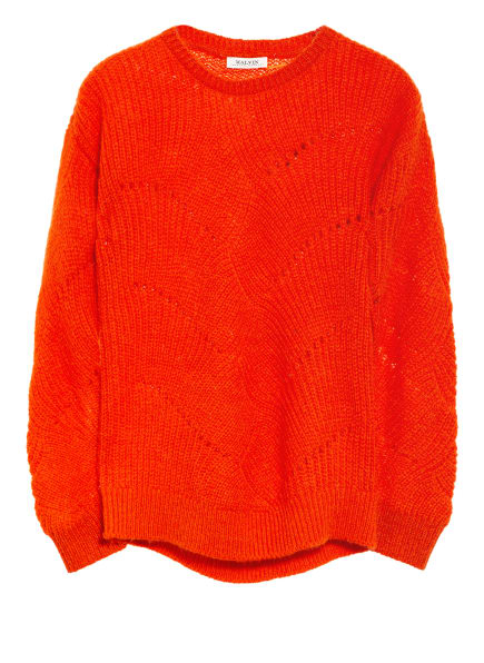 MALVIN Pullover , Farbe: ORANGE (Bild 1)