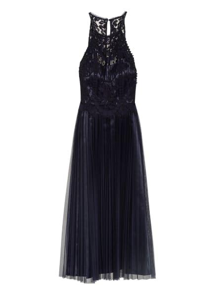 VM VERA MONT Kleid mit Spitzenbesatz, Farbe: DUNKELBLAU (Bild 1)
