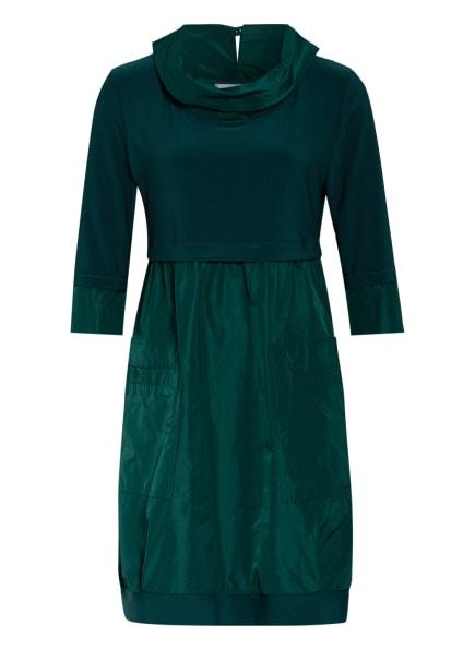 Joseph Ribkoff Kleid im Materialmix, Farbe: DUNKELGRÜN (Bild 1)