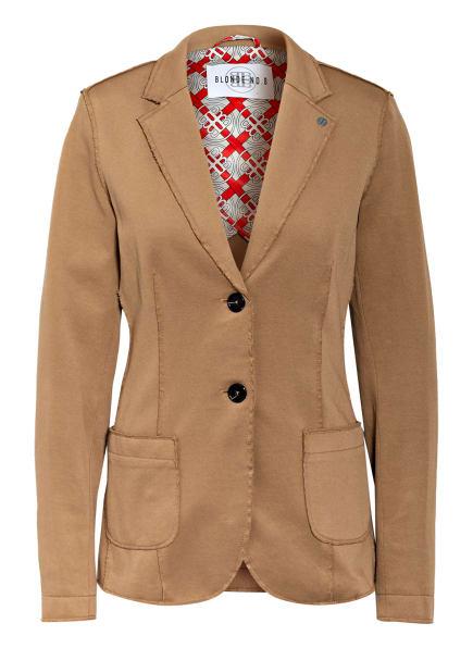 BLONDE No.8 Piqué-Blazer, Farbe: BEIGE (Bild 1)