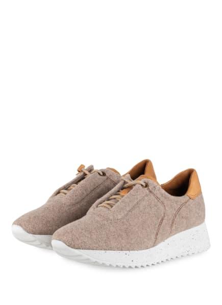 paul green Plateau-Sneaker, Farbe: BEIGE (Bild 1)