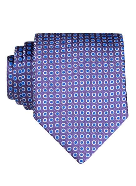 ETON Krawatte, Farbe: DUNKELLILA/ BLAU/ HELLBLAU (Bild 1)
