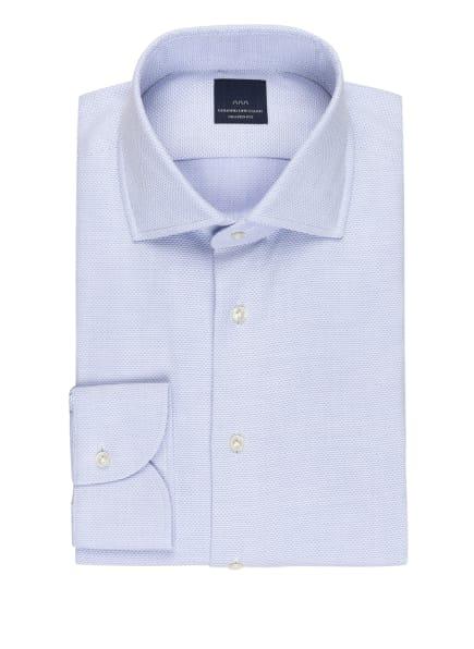EDUARD DRESSLER Hemd Shaped Fit, Farbe: HELLBLAU/ WEISS (Bild 1)