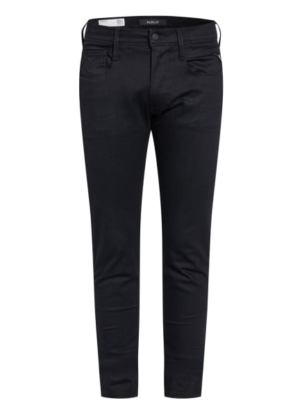 REPLAY Jeans Anbass HYPERFLEX RE-USED, Farbe: 098 BLACK (Bild 1)
