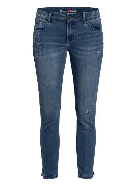 Buena Vista 7/8-Jeans ITALY, Farbe: 4195 DESTROY BLUE (Bild 1)