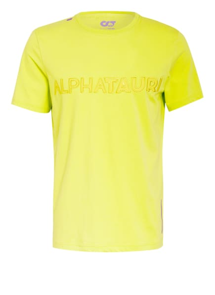 ALPHATAURI T-Shirt JANOS V2.Y4.02, Farbe: NEONGRÜN (Bild 1)