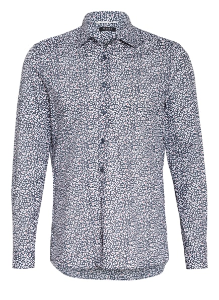 MAERZ MUENCHEN Hemd Regular Fit , Farbe: DUNKELBLAU/ WEISS/ ROT (Bild 1)