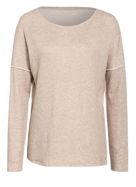 Juvia Oversized-Sweatshirt, Farbe: CREME (Bild 1)