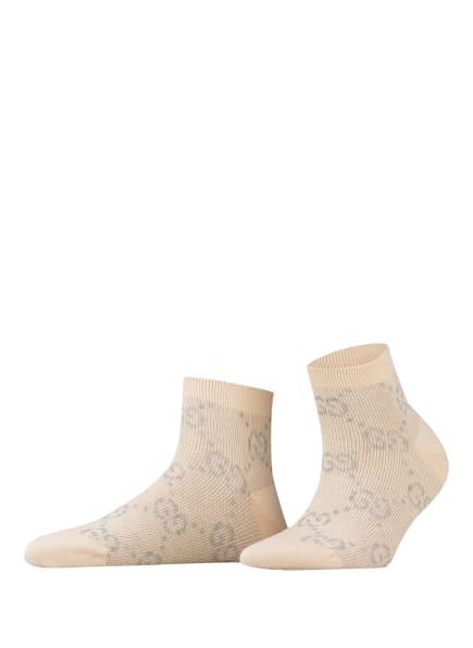 GUCCI Socken mit Glitzergarn , Farbe: 9263 IVORY GREY (Bild 1)