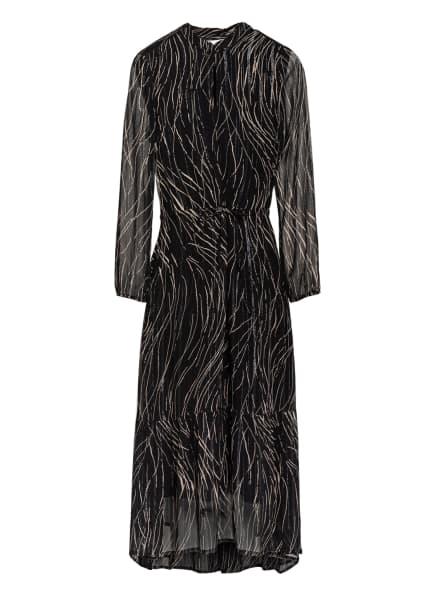 InWear Kleid mit Glitzergarn, Farbe: SCHWARZ/ CREME (Bild 1)