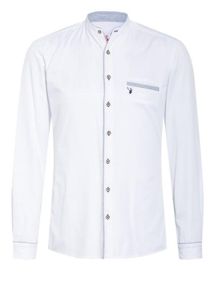 Spieth & Wensky Trachtenhemd Slim Fit mit Stehkragen , Farbe: WEISS (Bild 1)