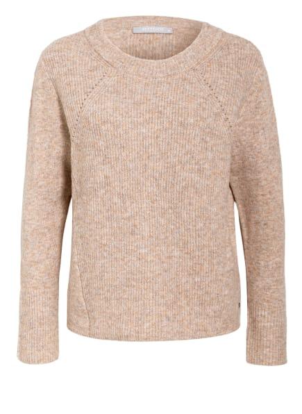 BETTY&CO Pullover, Farbe: BEIGE/ GRAU/ CREME (Bild 1)