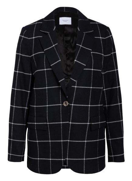Marc O'Polo Pure Oversized-Blazer, Farbe: SCHWARZ/ WEISS (Bild 1)