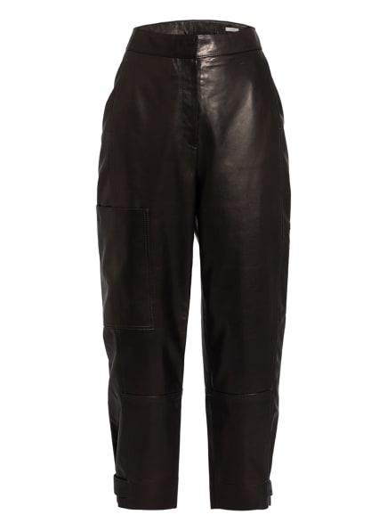 Marc O'Polo Pure Lederhose, Farbe: 980 pure black (Bild 1)