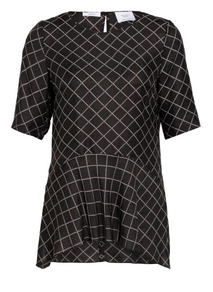 Marc O'Polo Pure Blusenshirt , Farbe: SCHWARZ/ BRAUN (Bild 1)