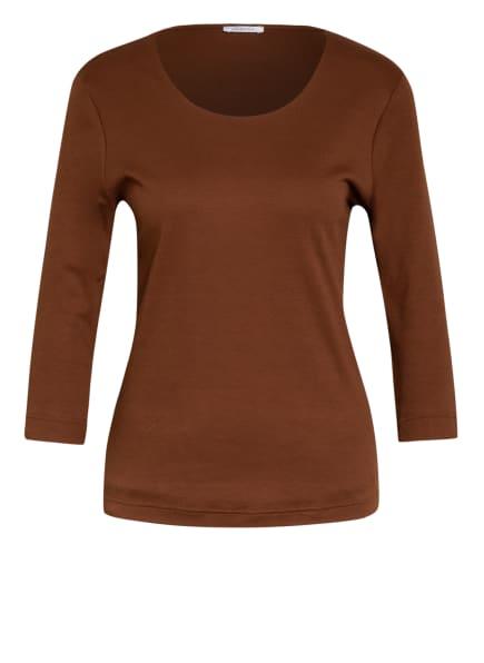 efixelle Shirt mit 3/4-Arm, Farbe: BRAUN (Bild 1)
