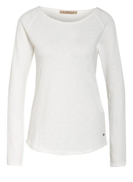 Smith&Soul Sweatshirt mit 3/4-Arm, Farbe: WEISS (Bild 1)