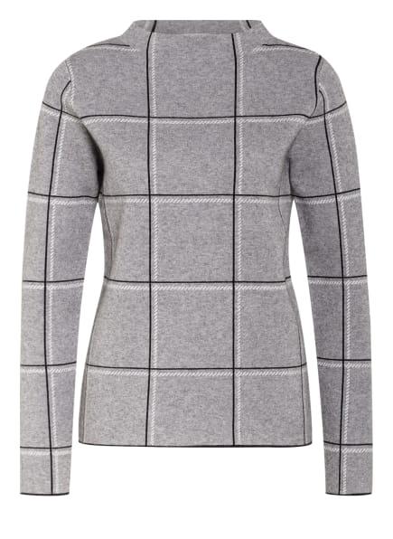 BETTY&CO Pullover, Farbe: GRAU/ SCHWARZ/ WEISS (Bild 1)