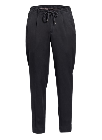 CHAS Anzughose Extra Slim Fit im Jogging-Stil, Farbe: DUNKELBLAU (Bild 1)