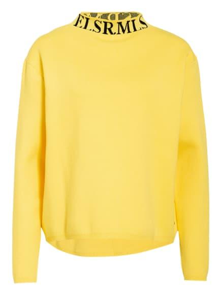 ER ELIAS RUMELIS Pullover SCARLETT, Farbe: GELB/ SCHWARZ (Bild 1)