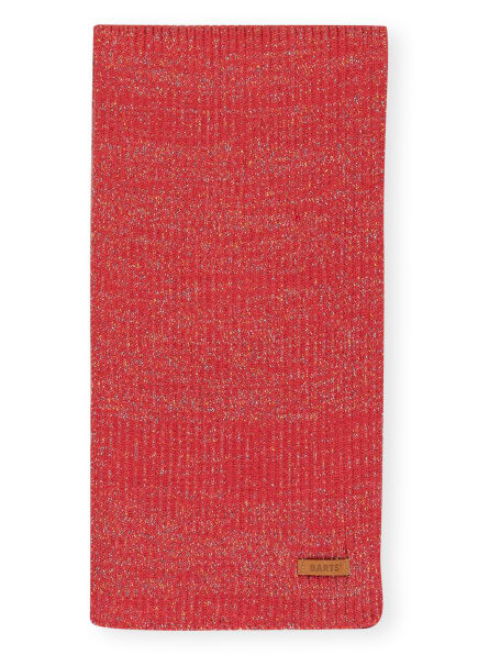 Barts Schal WINNIE mit Glitzergarn, Farbe: ROT (Bild 1)