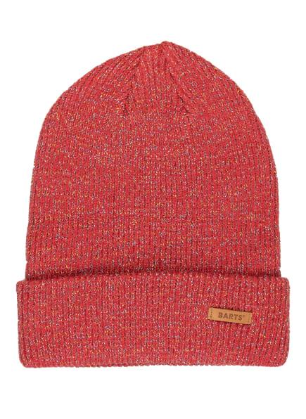 Barts Mütze WINNIE mit Glitzergarn , Farbe: HELLROT (Bild 1)