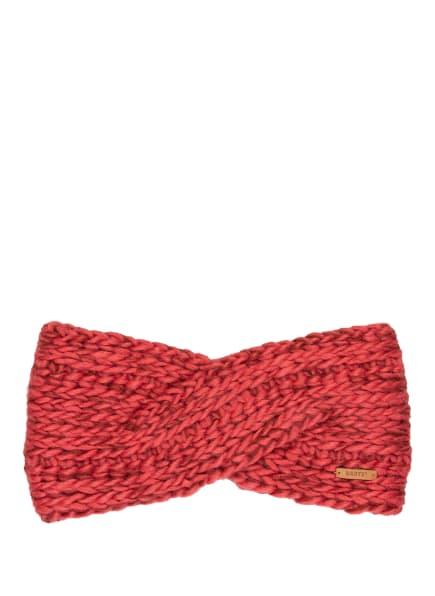 Barts Stirnband JASMIN, Farbe: HELLROT/ DUNKELBRAUN (Bild 1)