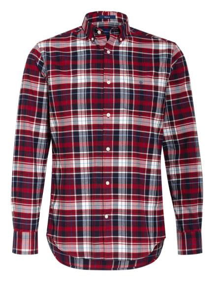 GANT Hemd Regular Fit, Farbe: ROT/ DUNKELBLAU/ WEISS (Bild 1)