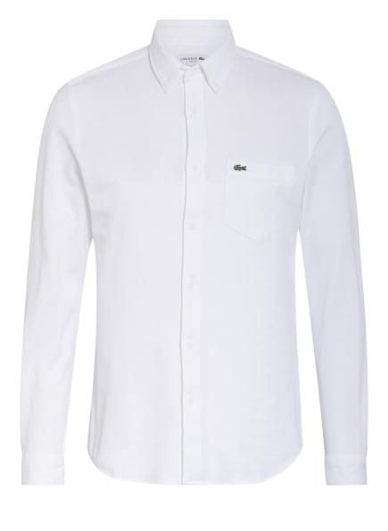 LACOSTE Piqué-Hemd Slim Fit, Farbe: WEISS (Bild 1)